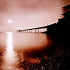 Clevedon pier pinhole camera image by Robert Down