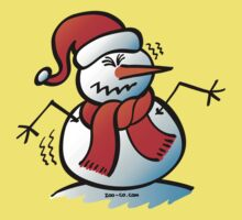 Shivering Snowman Kids Clothes