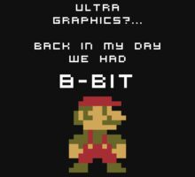 It was 8-Bit back in my day! - Mario (Reversed) by diddykong13