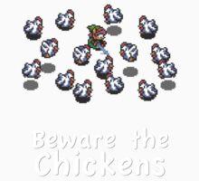 Zelda - Beware the Chickens Kids Clothes