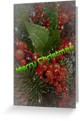 Another 'Merry Christmas' Card by Charldia
