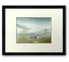 Villager Framed Print