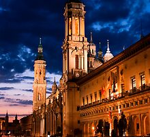 Plaza del Pilar by Slawomir  Piasecki