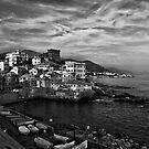 Boccadasse BW, Genoa by acalax