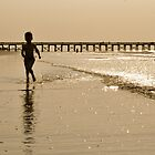 Boy on the Beach II by Ginadg73