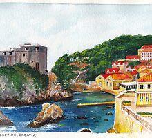 Dubrovnik, Croatia by Dai Wynn