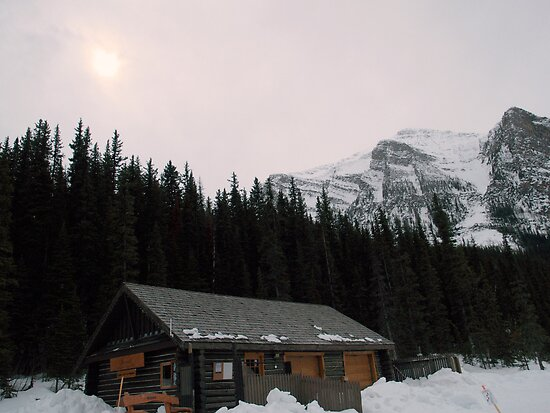 A little bit of Banff series # 3 by Elisabeth Dubois