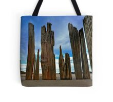 Fort Tilden Driftwood5 Tote Bag