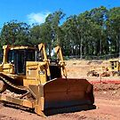 Caterpillar D7H Dozer by Property & Construction Photography
