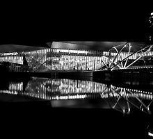 Reflection 1 Black and White by Joshua Hakman  Photography Pty Ltd
