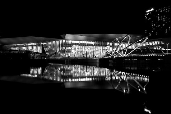 Reflection 1 Black and White by JHP Unique and Beautiful Images