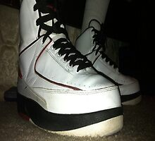 air jordan 2s by denzelb