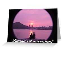 Anniversary Card with Words Greeting Card