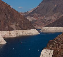 Colorado River Winds to the Hoover Dam by Henry Plumley