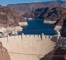 Face of the Hoover Dam by Henry Plumley