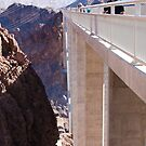Side View of the Mike O&#x27;Callaghan - Pat Tillman Bridge by Henry Plumley