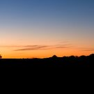 Augrabies Sunset Panorama by Will Hore-Lacy