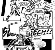 Page 1 of Good Game Batman Comic submission by Michael Lee