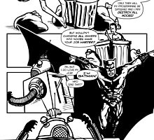 Page 2 of Good Game Batman Comic submission by Michael Lee