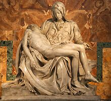 La Pietà by Michelangelo by Rob Chiarolli