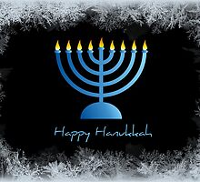 Happy Hanukkah - greeting card by Scott Mitchell