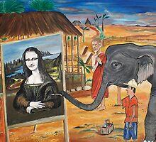 Thai Artist by coneillart