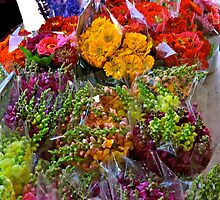 Bouquet at Market Day by Ginadg73
