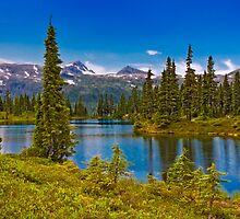 HAIRTRIGGER LAKE ( VIEW 2) by Sandy Stewart
