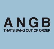 Bang Out Of Order! - Black by ScottW93