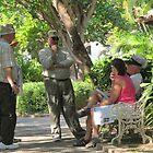 Taking a break from sightseeing- Haciendo una pausa, Puerto Vallarta, Mexico by PtoVallartaMex