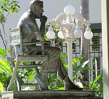 John Houston Sculpture / Isla Cuale, Puerto Vallarta, Mexico by PtoVallartaMex