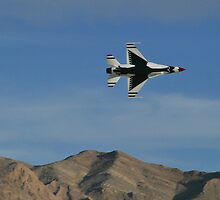 USAF Thunderbirds Solo Minimum Radius Turn by Henry Plumley