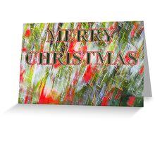 holly by golly, um... me    christmas card Greeting Card