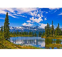 HAIRTRIGGER LAKE Photographic Print