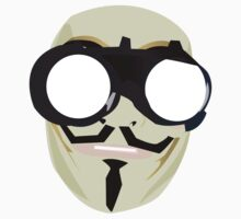 anonymous mask by 2piu2design
