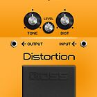 Boss Distortion Pedal by Alisdair Binning
