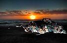 Jökulsárlón Beach by Roddy Atkinson
