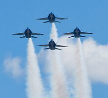 Blue Angels Diamond Head On by Henry Plumley
