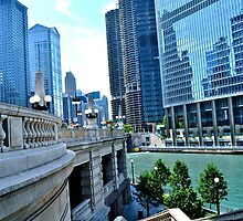 Chicago River by Ginadg73