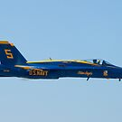 Blue Angels Solo #5 Sneak Pass by Henry Plumley