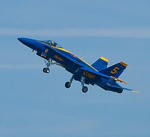 Blue Angels Solo #5 Dirty Take Off by Henry Plumley