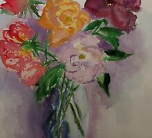 Mary's roses - Camberwell Victoria by Margaret Morgan (Watkins)