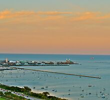 Lake Michigan Colors by Ginadg73
