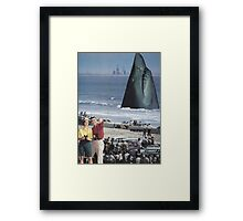 ' Open Jaws' Framed Print