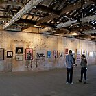 Cockatoo Island Art Gallery by Lars
