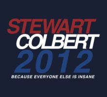 Stewart / Colbert 2012 by mouseteeeeeth