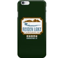 Reiden Lake Campground iPhone Case/Skin