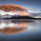 Tarawera Evening by Michael Treloar