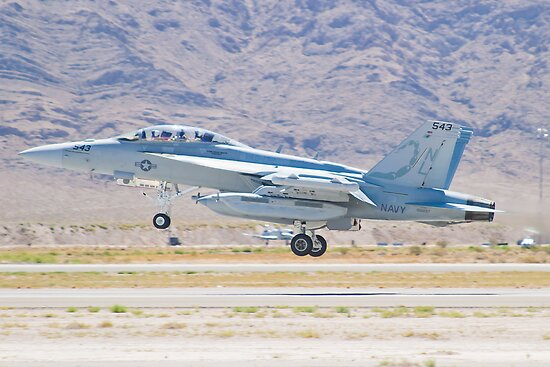 166897 EA-18G Growler Taking Off by Henry Plumley