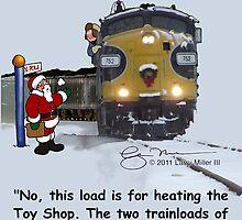 Coal train by Larry Miller III